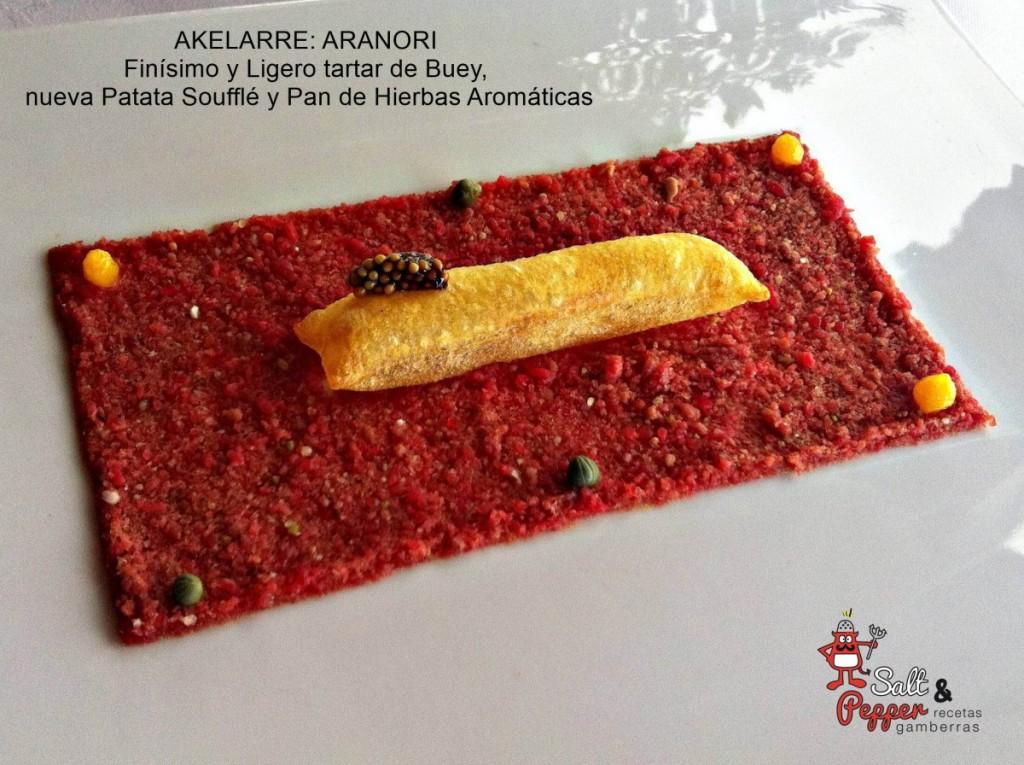 Akelarre_Aranori_Tartar_Patatas_Soufle_Pan_Hierbas_Aromaticas_3