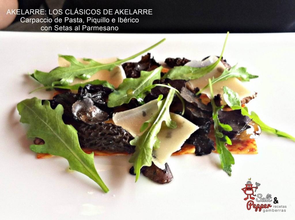 Akelarre_Clasicos_Carpaccio_Pasta_Piquillo_Ibérico_Setas_Parmesano_1