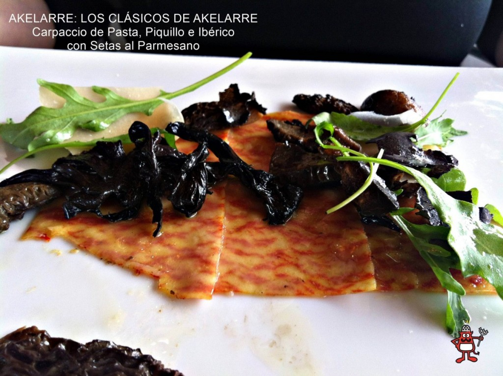 Akelarre_Clasicos_Carpaccio_Pasta_Piquillo_Ibérico_Setas_Parmesano_2