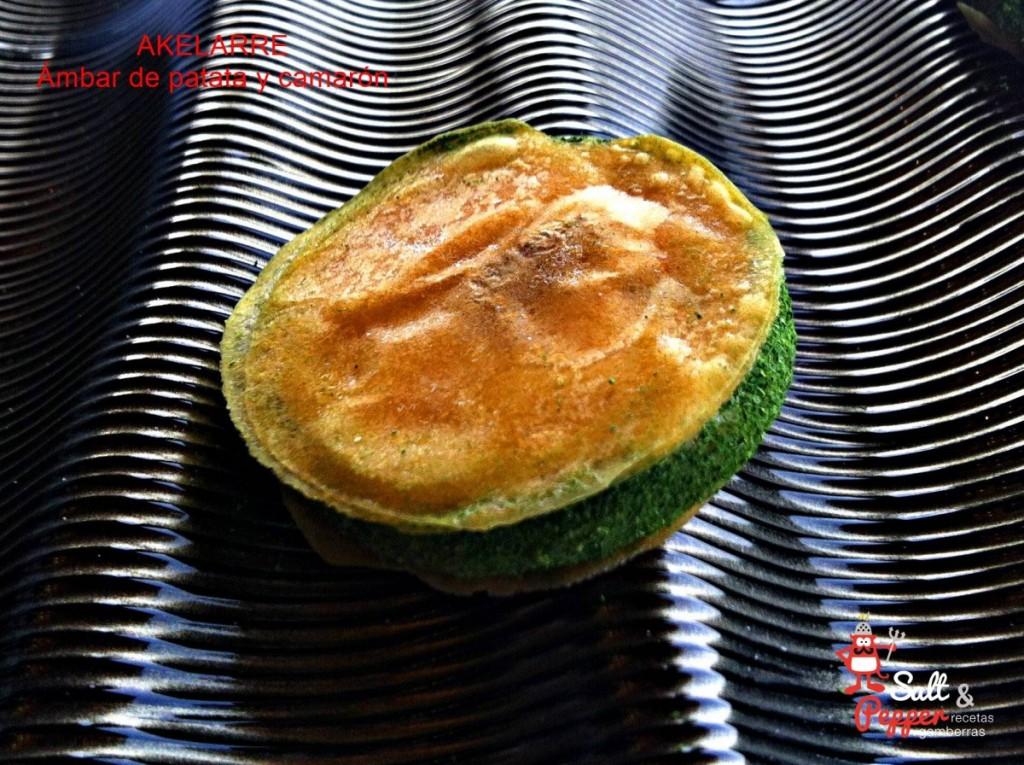 Akelarre_ambar_patata_camaron