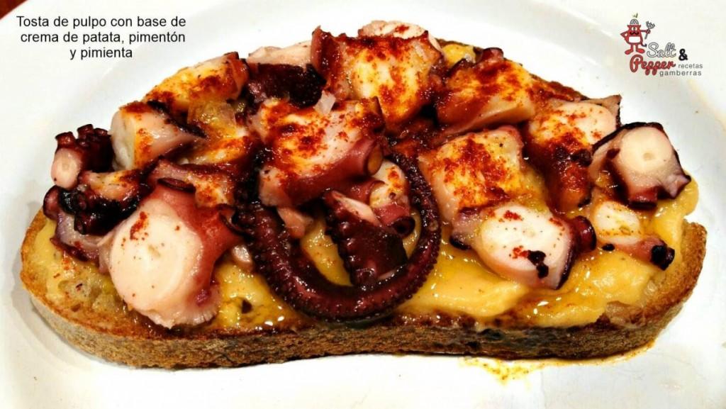 tosta_pulpo_crema_patata_pimenton