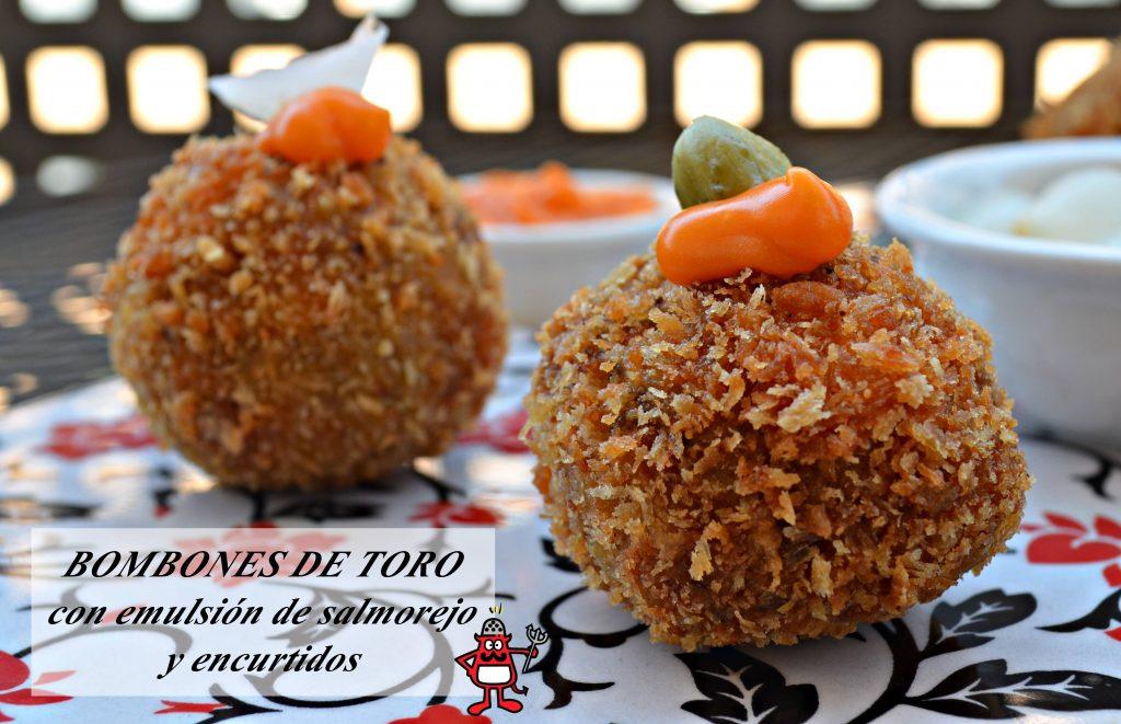 Bombones_toro_emulsion_salmorejo_encurtidos_2