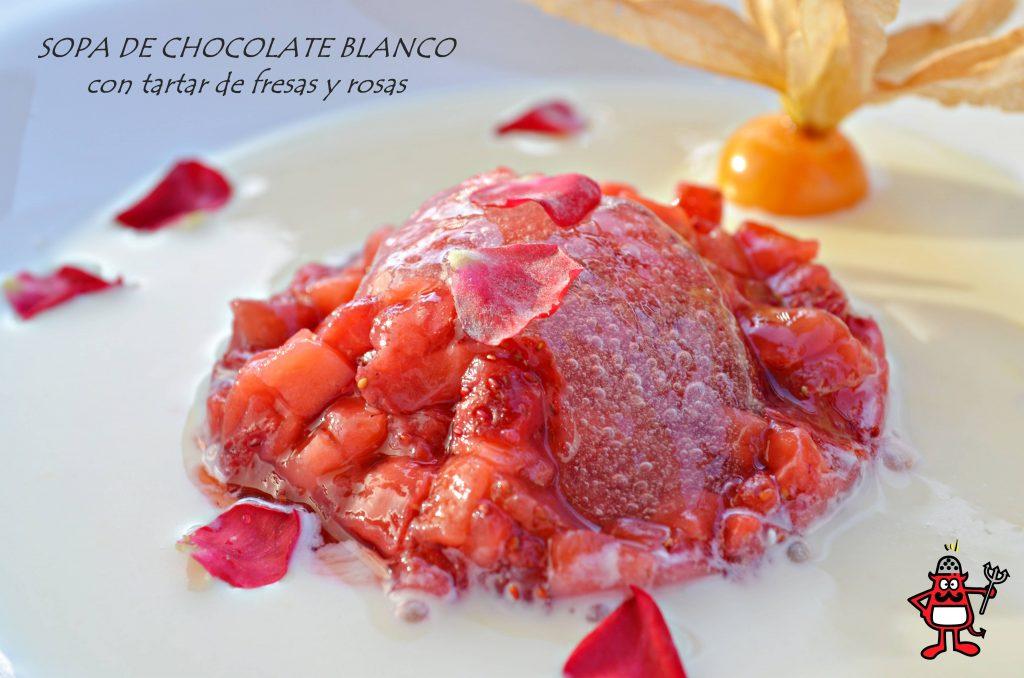 Sopa_chocolate_blanco_tartar_fresas_rosas_2