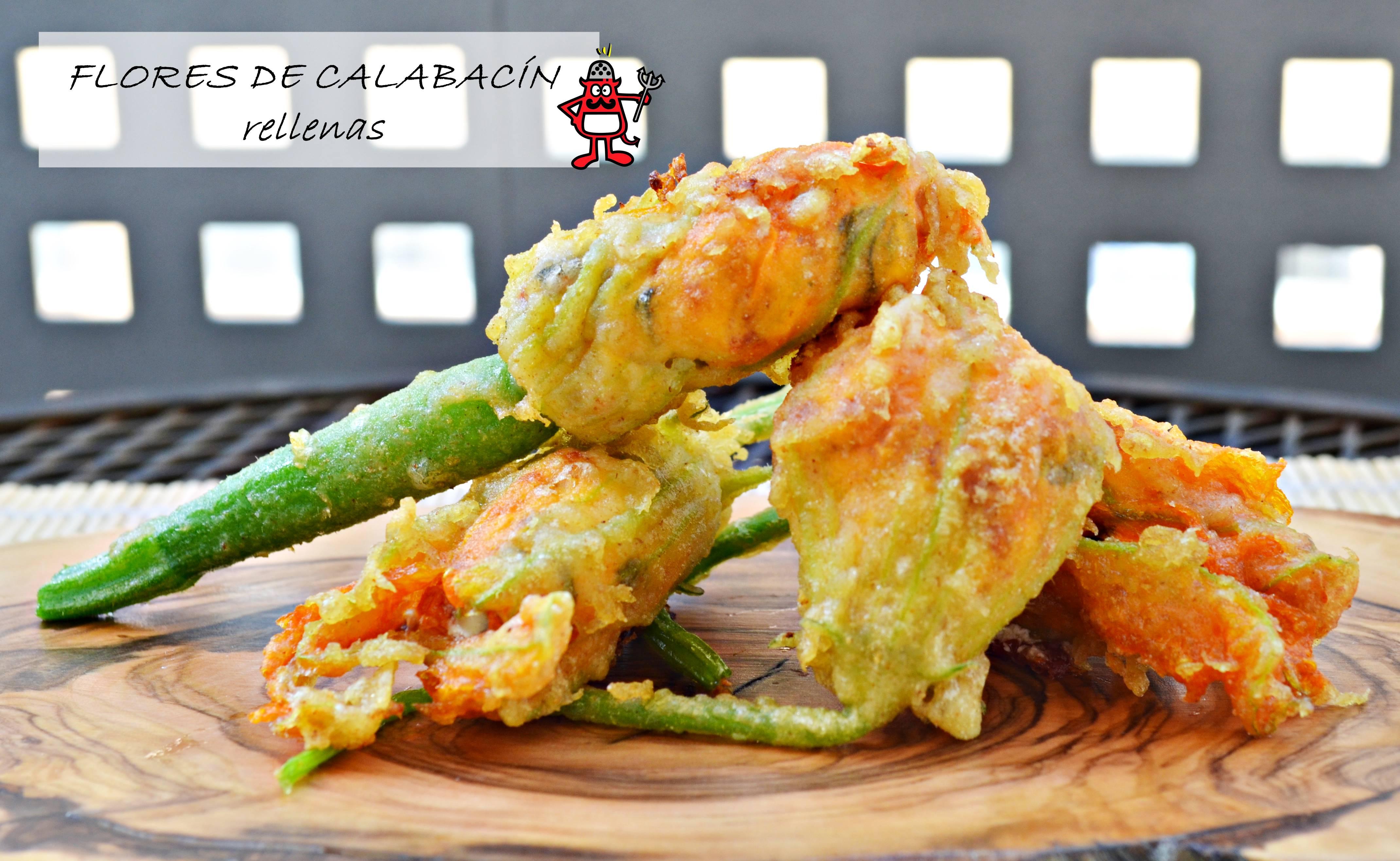 Cocinar Flores De Calabacin | Flores De Calabacin Rellenas Salt Pepper