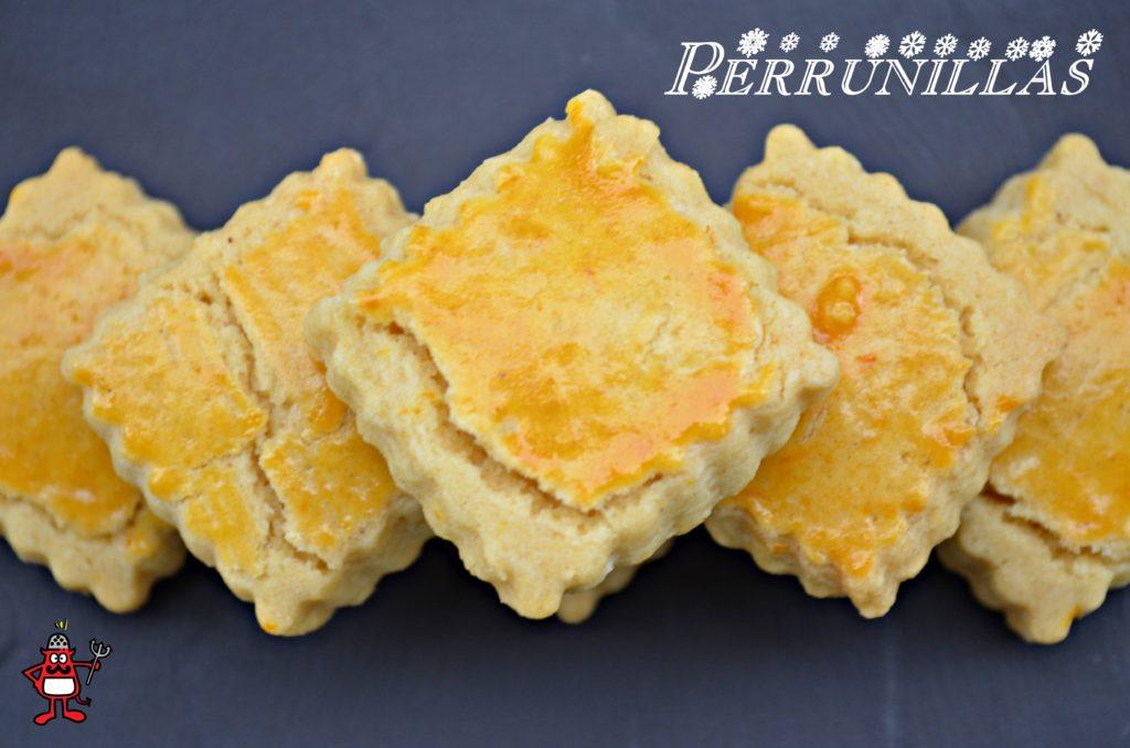 Plato de perrunillas. Son unas galletas típicas de Salamanca.