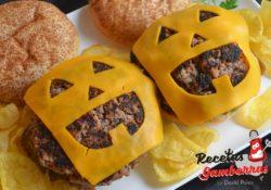 Hamburguesa de Halloween
