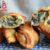 Empanadillas de alcachofas y puerro
